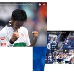 【アベック優勝なるか!?】USオープンで錦織圭と大坂なおみがベスト4進出!
